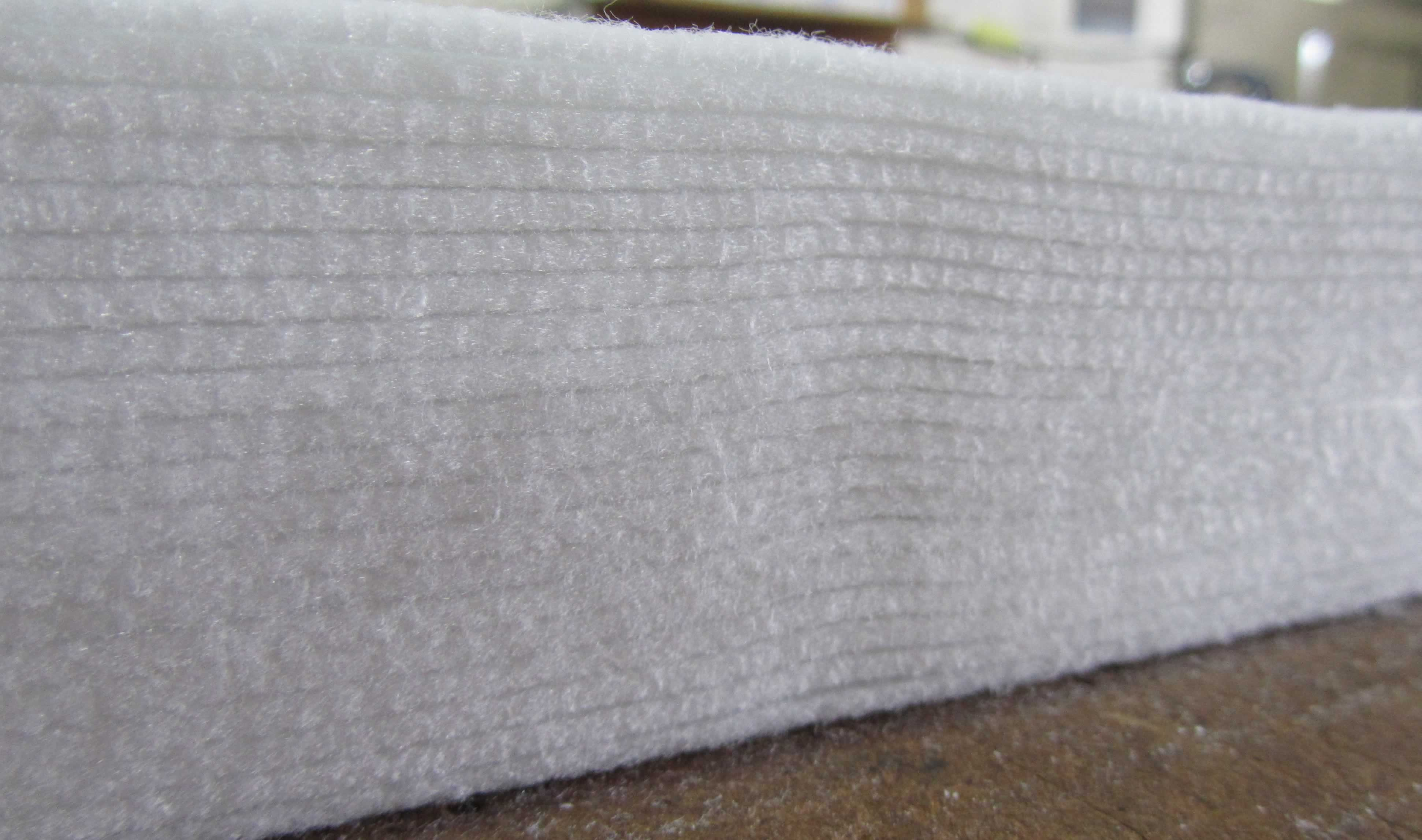Stack of felt sheeting